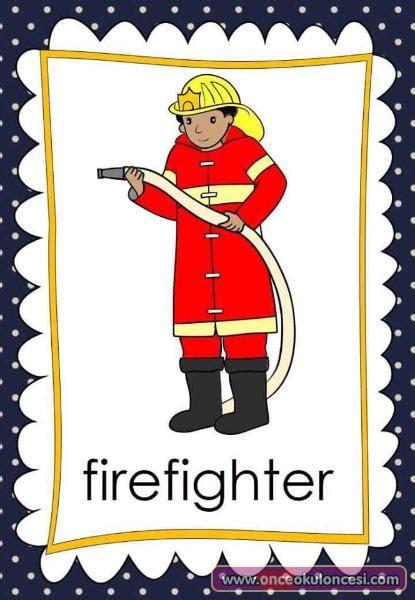 jobs flash cards meslekler