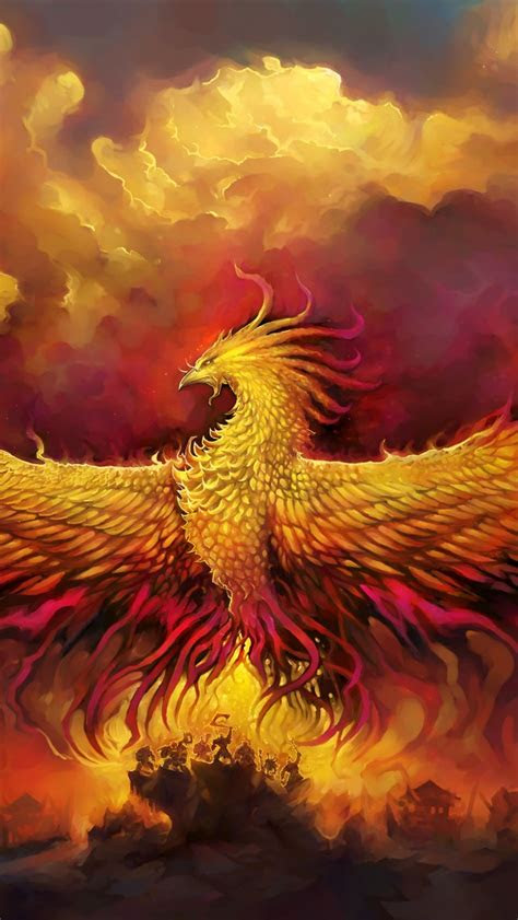 wallpaper alar phoenix god phoenix world  warcraft  creative graphics
