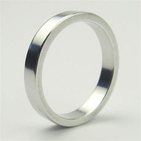 Men's Aluminum Wedding Ring   10th Anniversary #2430207