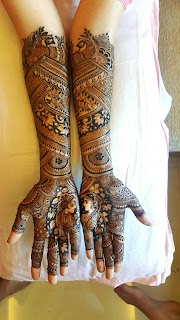 Mehndi Designs for Full Hands Front and Back