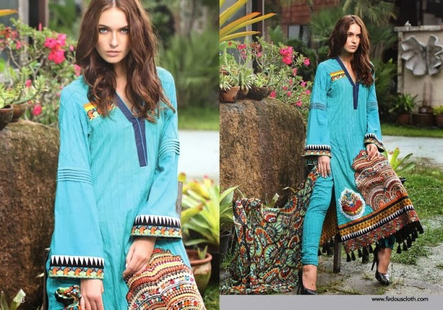 Women-Girls-Fall-Winter-Dress-2013-14-Exclusive-Winter Suits-by-Firdous-Clothes-6