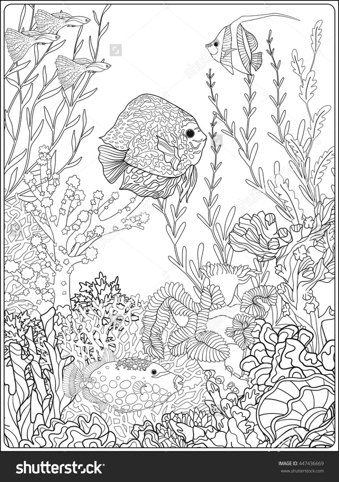 Sea World Coloring Pages at GetColorings.com | Free ...