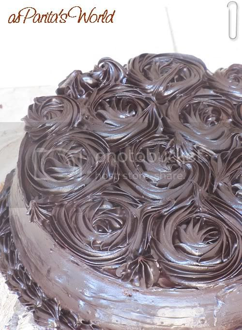 Eggless Chocolate Truffle Cake, Visit paritaskitchen.blogspot.com for recipe!