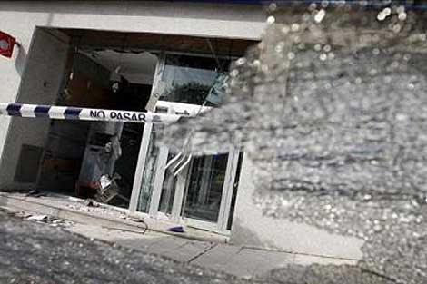 Imagen del edificio donde se ha producido la explosión.   Publimetro