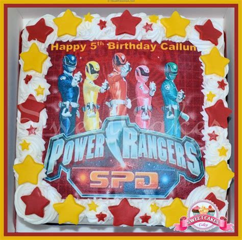 17 Best images about Power Rangers Party on Pinterest