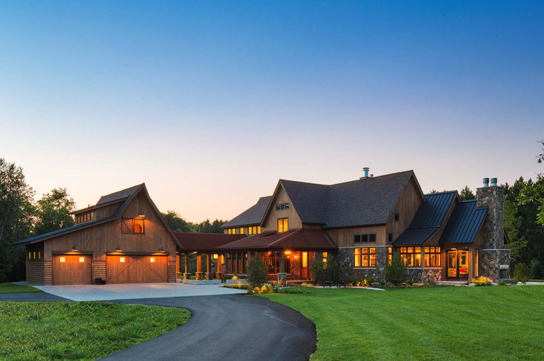 Visually Inspiring Rustic Farmhouse in the Minnesota