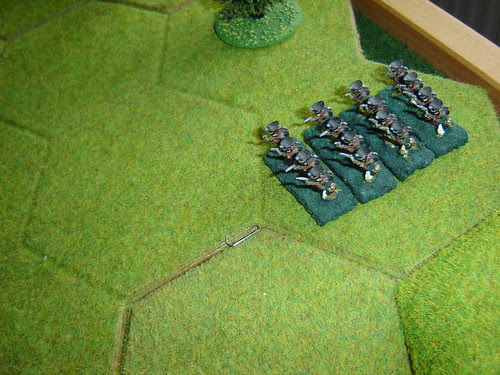 First Prussians arrive