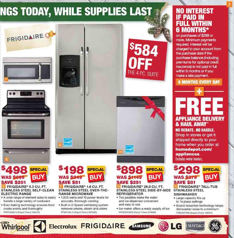 kitchen appliance package deals home depot | Roselawnlutheran