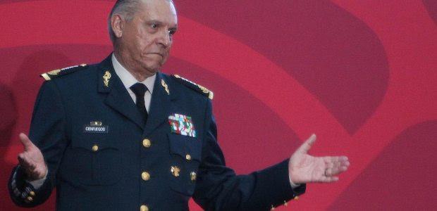 Salvador Cienfuegos Zepeda, titular de la Sedena. Foto: Benjamin Flores