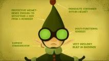 Attrezzature Elf intervistati in tre video spesso sfocato formazione.