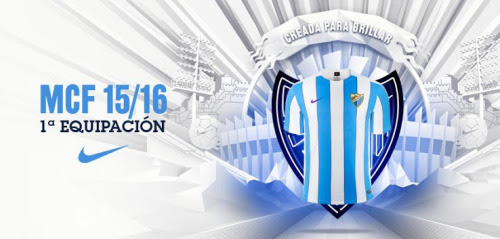 Nueva Nike camiseta del Málaga local 2015-16El Nueva Nike camiseta del Málaga local 2015-16 cuenta con rayas azules y blancas cielo tradicional del club en un diseño a medida.Inspirado en los colores de la bandera de Málaga, el equipación Málaga 2015 2016 tiene un swoosh púrpura y telas a rayas púrpuras colocado entre las franjas más amplias.Considerando que el diseño de rayas se continúa en el collar de cuello redondo simple del Camiseta Málaga 2015 2016 casera en el frente, la parte posterior es de color blanco sólido.El Camiseta Málaga 2015 2016 casera se combina con pantalones cortos y calcetines blancos, completo con swooshes negro Nike.