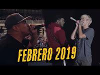 Las MEJORES RIMAS del MES de FEBRERO 2019 - ¡ÉPICO!   Batallas de Gallos (Freestyle Rap)