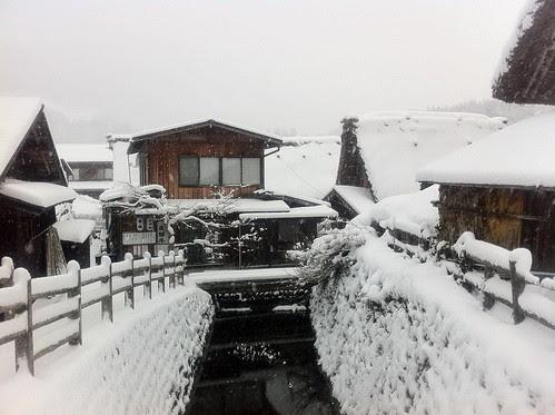 Shirakawa-go in the morning