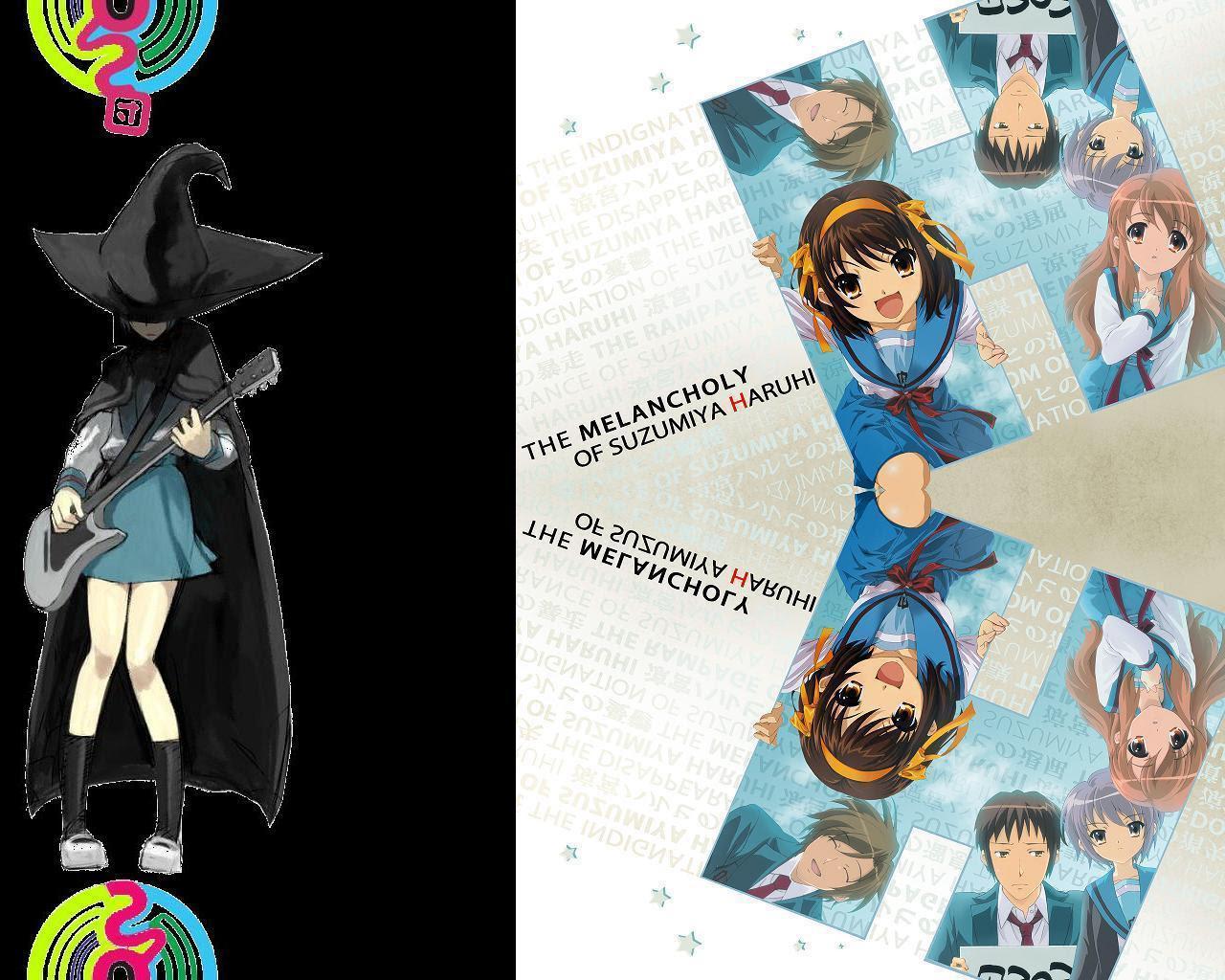 The Melancholy Of Haruhi Suzumiya Wallpaper The Sos Brigade