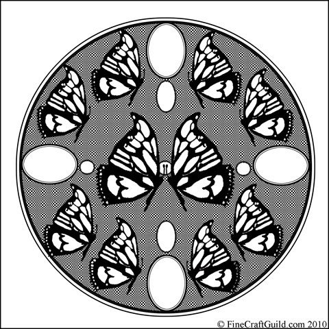 Difficult Coloring Pages: Mandala with Easter Eggs ...