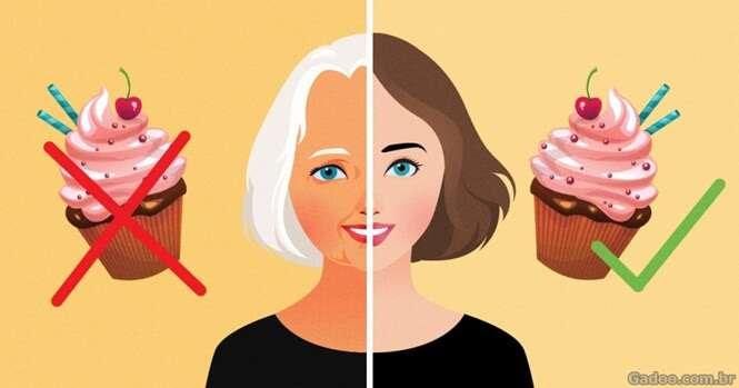 Hábitos diários que fazem você envelhecer mais rápido