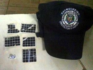 108 alucinógenos LSD e um comprimido de ecstasy foram apreendidos em Sumaré, SP  (Foto: Guarda Municipal Sumaré (SP))