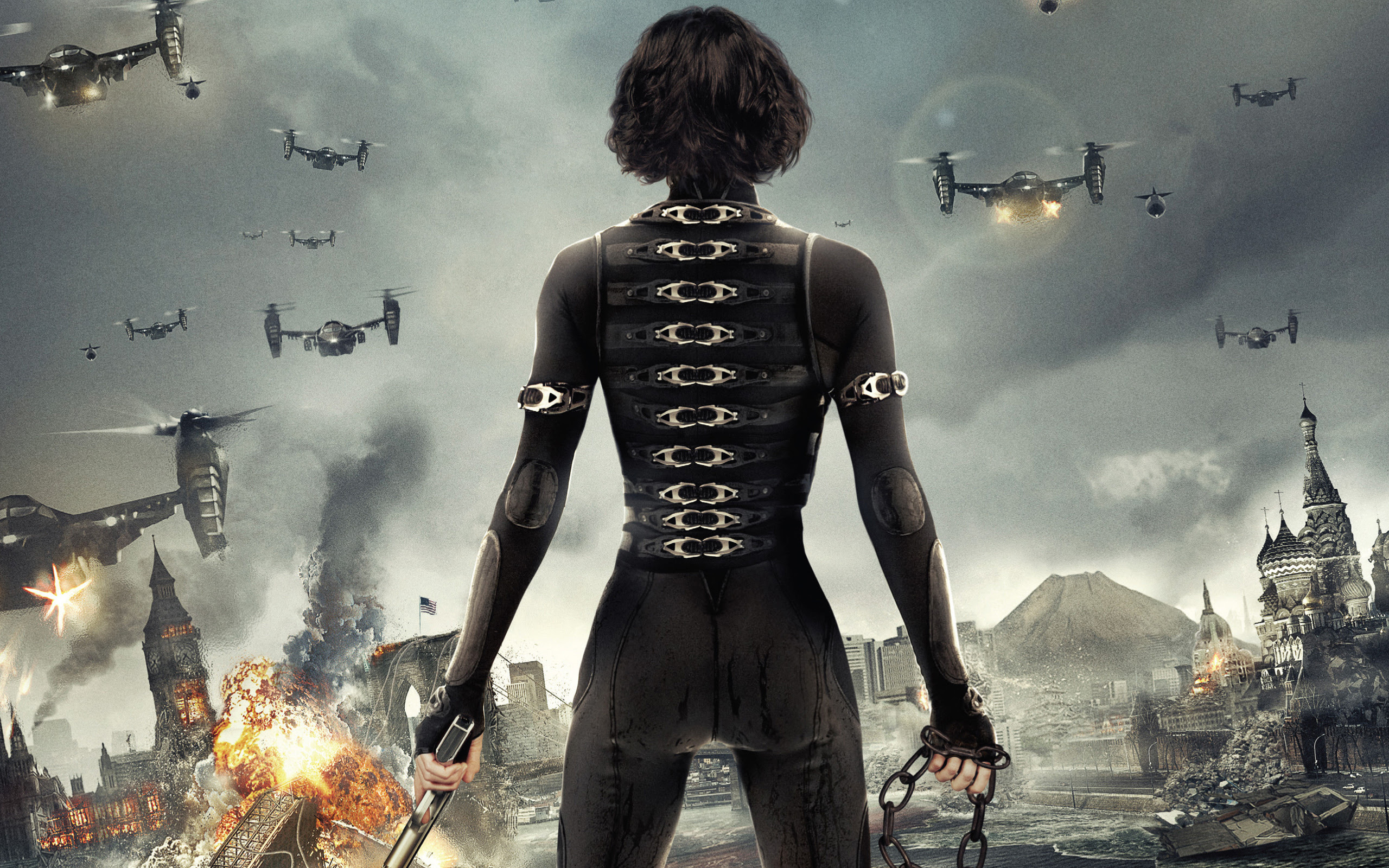 Alice In Resident Evil 5 Retribution Wallpapers Wallpapers Hd
