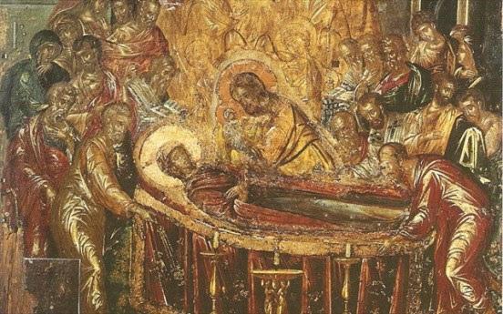Η «Κοίμηση της Θεοτόκου»_ έργο του Δομήνικου Θεοτοκόπουλου_Ερμούπολη της Σύρου