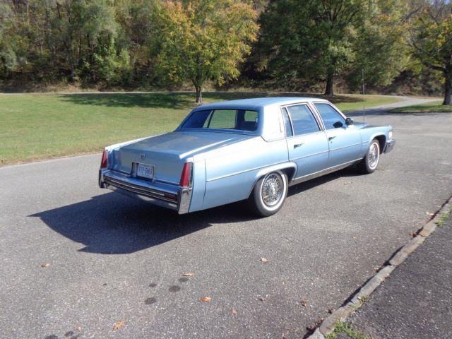 1977 Cadillac Fleetwood Brougham D'Elegance 37,390 ...