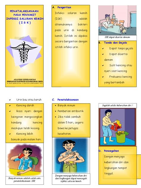 leaflet infeksi saluran kemih isk