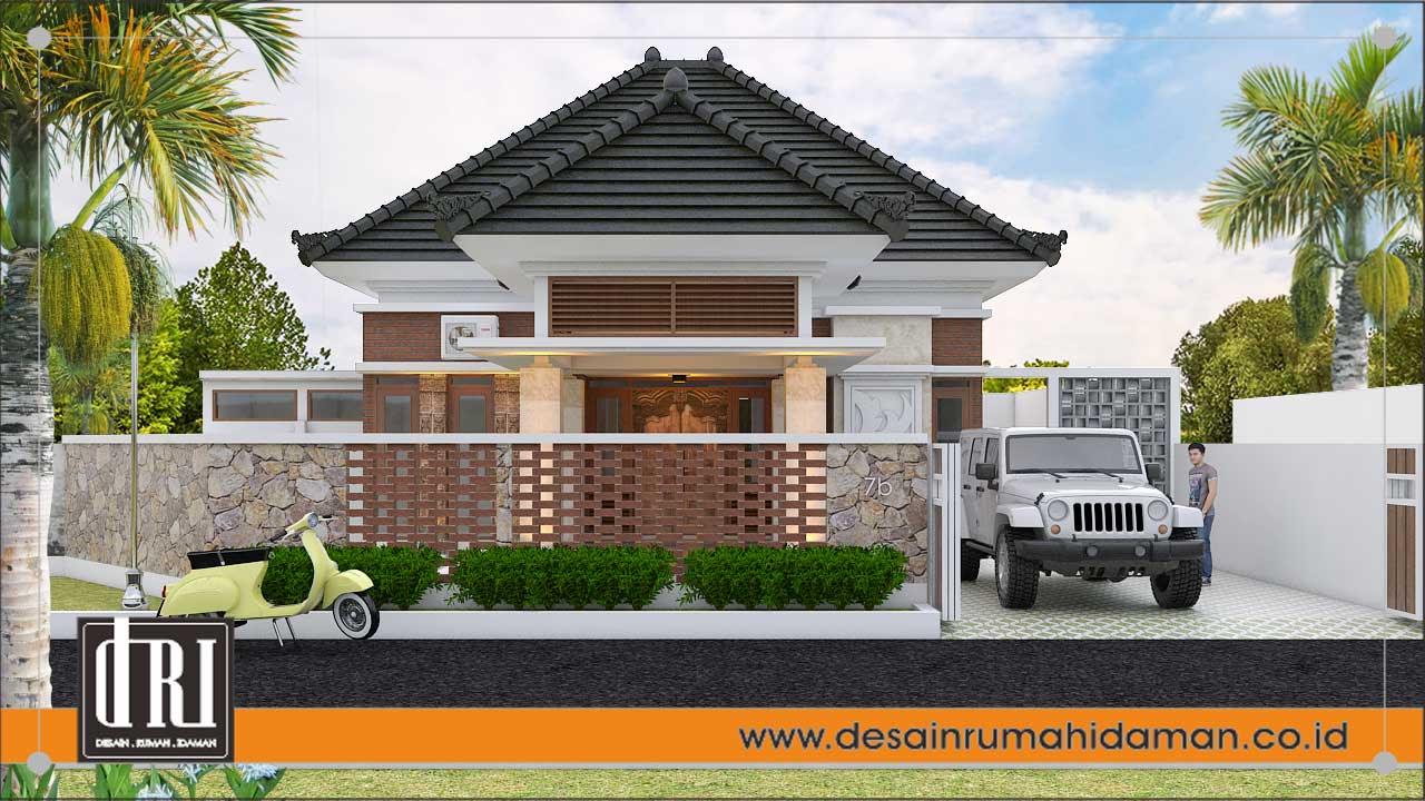 Desain Rumah Etnik Modern Sleman Desain Rumah Idaman