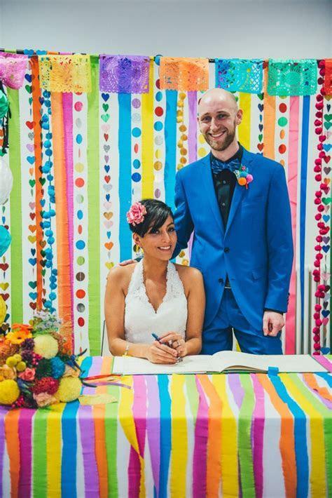 Colourful Cinco de Mayo Fiesta Wedding · Rock n Roll Bride
