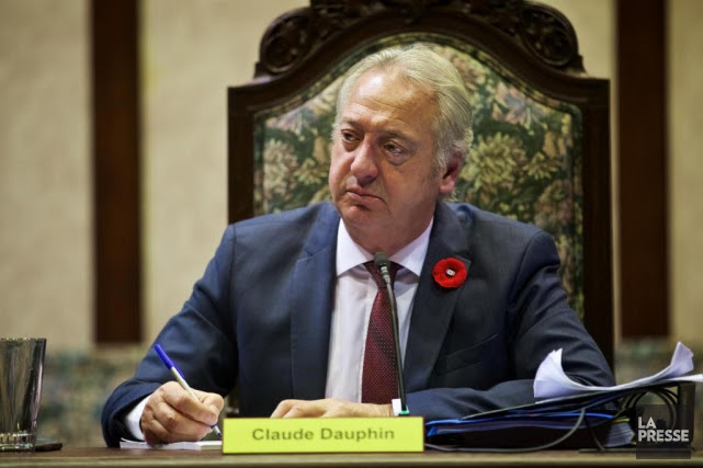 Claude Dauphin, maire de l'arrondissement de Lachine et... (PHOTO ANDRÉ PICHETTE, ARCHIVES LA PRESSE)