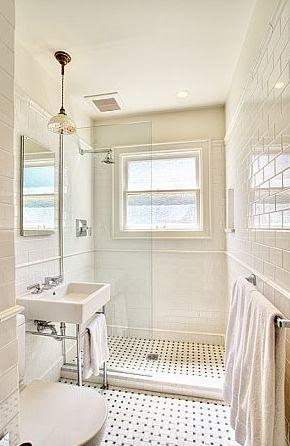 Subway Biały prysznic Tole