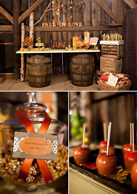 Pittsburgh wedding photographer, fall wedding dessert tables