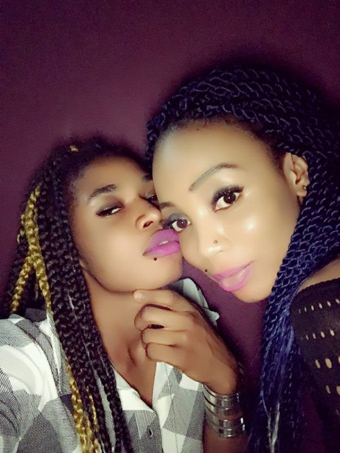 Look at the cute lesbian couples that wants to take over the attention Chidinma is currently getting.
