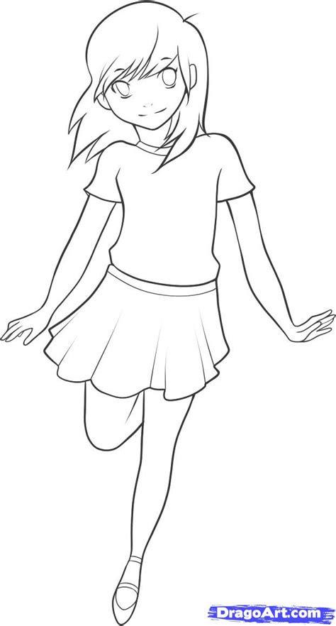 draw  anime kid step  step anime people