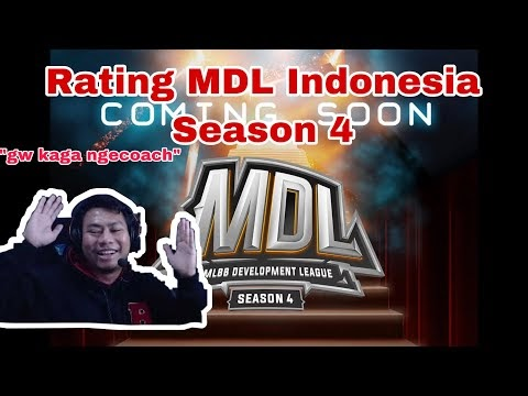 Rating Player MDL Indonesia Season 4 - by KB #BacotanKB