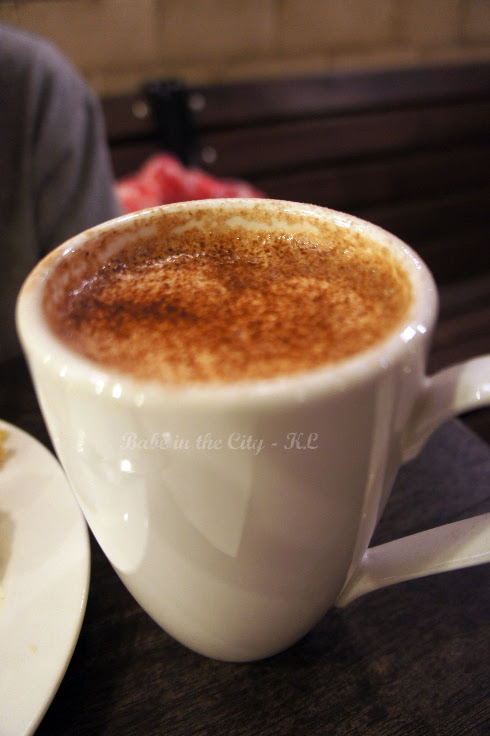 Hot Chocolate (RM9.50)