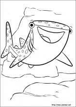 Dibujos De Buscando A Dory Para Colorear En Colorearnet