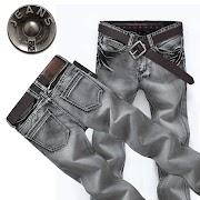 Discount New 2015 famous brand men jeans spring Fashion denim pants men smoke gray straight jeans casual denim trousers jeans for men