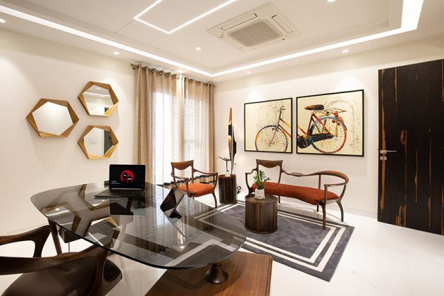 Penthouse Pafekuto By Conarch Architects In Uttar Pradesh India