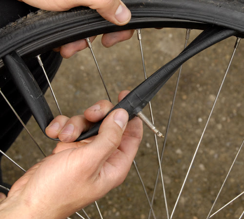 Change A Flat Bike Tire Getout
