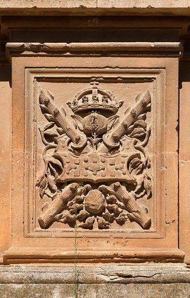 File:Imperial symbols palacio Carlos V Alhambra Espagne.jpg