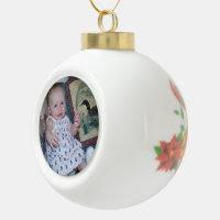 Ceramic Ball Ornament Add Your Photo