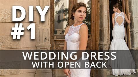 How to make a Wedding Dress? DIY Sew your own Bridal Gown