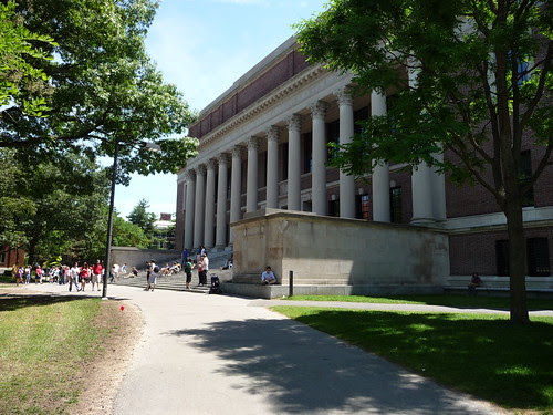 Harvard Library by mbrand, on Flickr