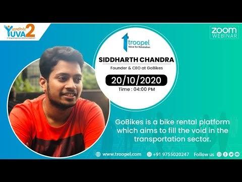 Aatmnirbhar Yuva - A young entrepreneur Series | Siddharth Chandra | GoBikes