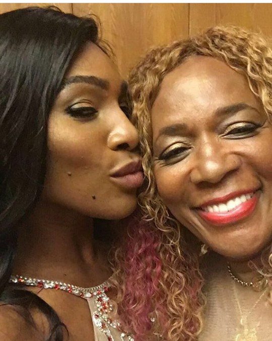 Serena Williams shares beautiful photo with her mum