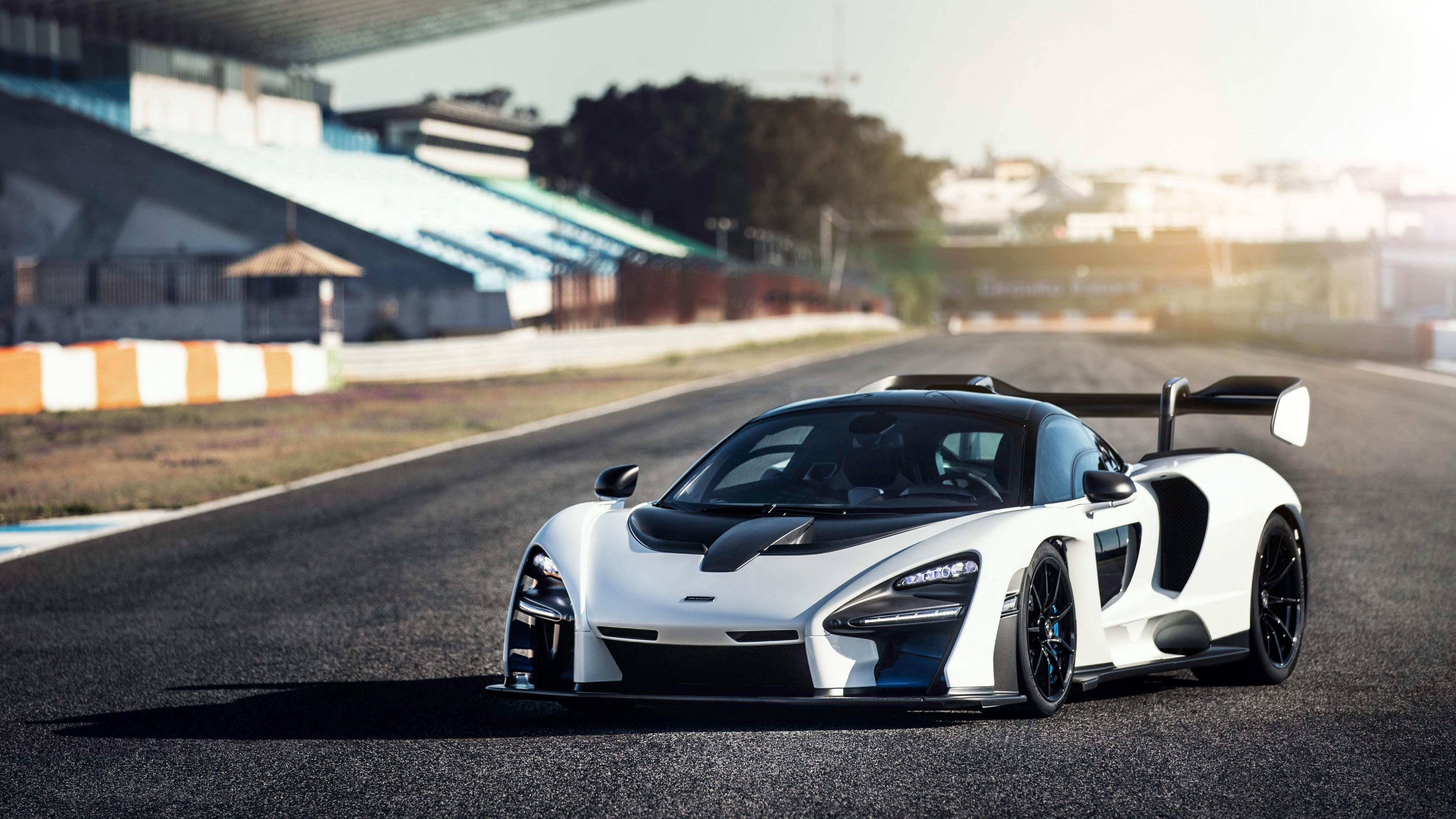 McLaren Senna Pure White 5K Wallpaper | HD Car Wallpapers ...