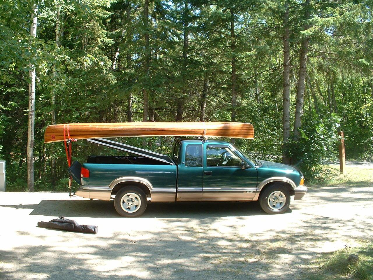 Homemade Wooden Truck Racks
