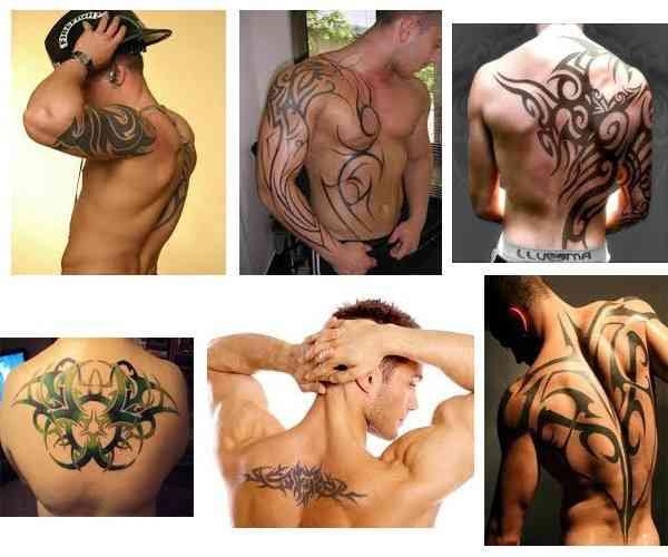 Tatuajes Para Hombres En La Espalda Tribales Tatuajes