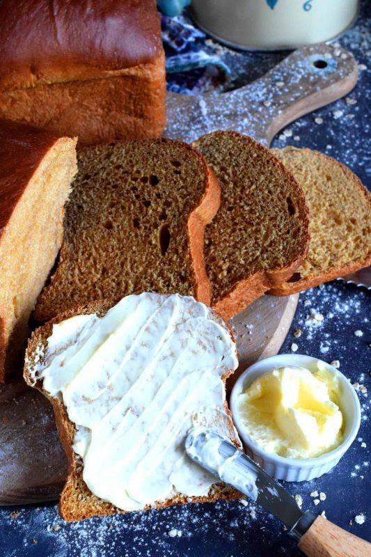 Newfoundland Molasses Sweet Bread - Lord Byron's Kitchen