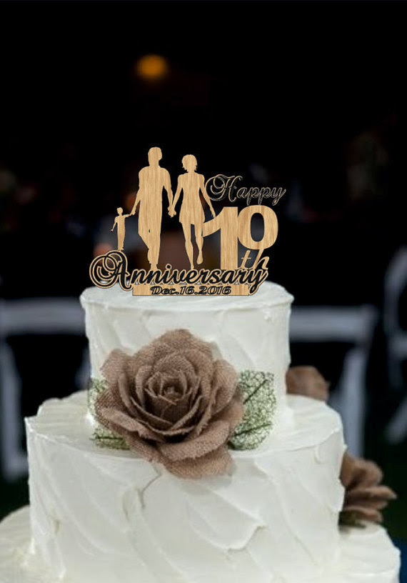 10th Wedding Anniversary Cakes Images