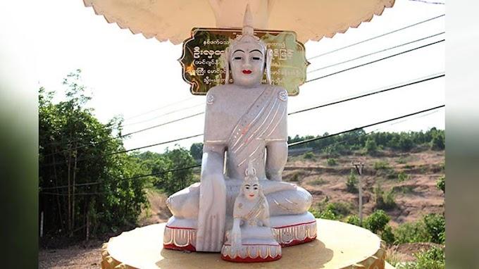 Myanmar Singkirkan Rupaka Buddha dengan Mudra yang Tidak Sesuai oleh - ajaranbuddha.xyz